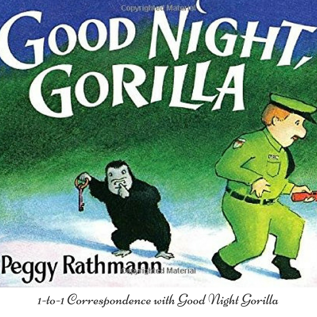 Teaching Toddlers One To One Correspondence With Goodnight