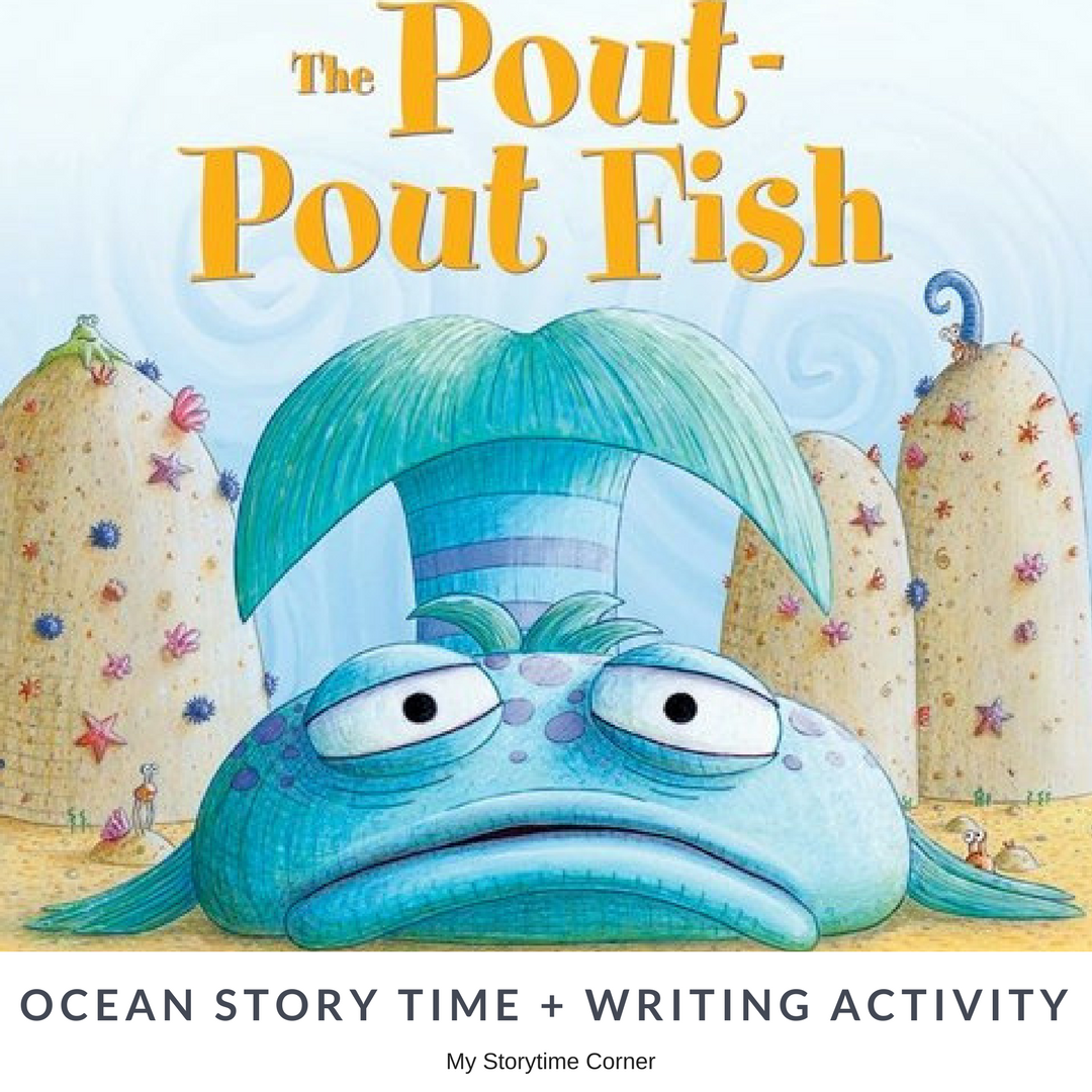Pout Pout Fish Inspired Early Writing Activity About