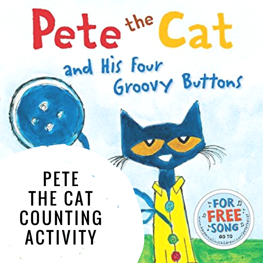 Counting Activity With Pete The Cat
