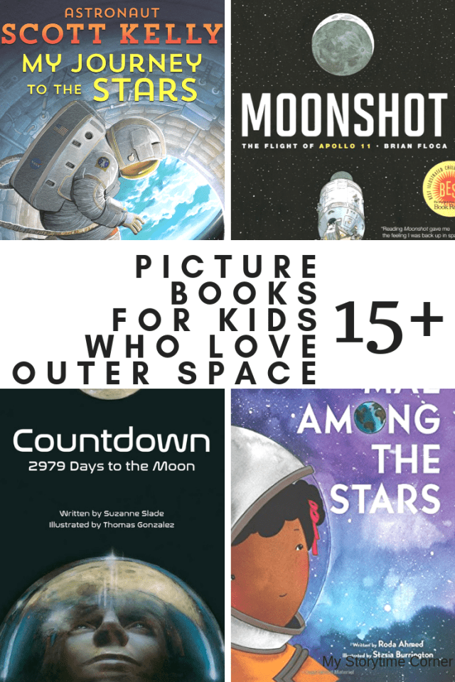 Picture Books about Astronauts and Rocket Ships for Kids