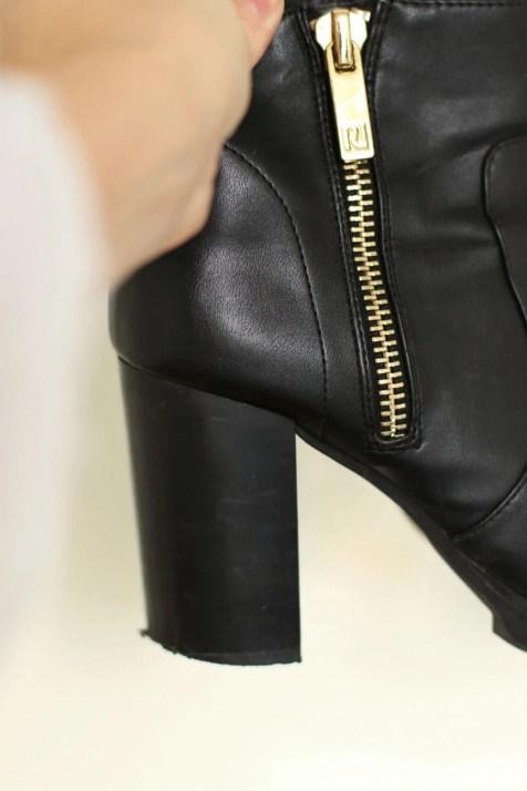 replaceable heel tip