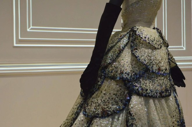 Christian Dior Dress Detail