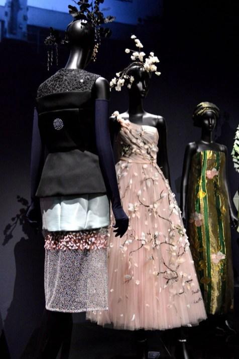 Dior femininity through fashion