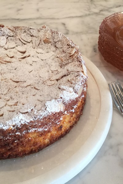 Flourless Lemon Ricotta Cake