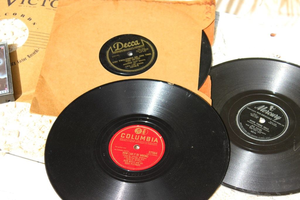"""78s"" from ""back in the day"""
