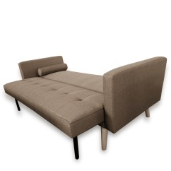 Fold Down Sofa Sleeper Best Quality Sectional Brands Amy Brand New Blue Or Grey Fabric Click Clack Bed