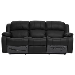 Lounge Suite Sofa Bed Franklin Reclining Kacey 3 Seater Chair Recliner Couch