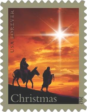 New Christmas Postage Stamp My Sunday News