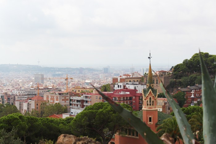 The view from Park Guell.