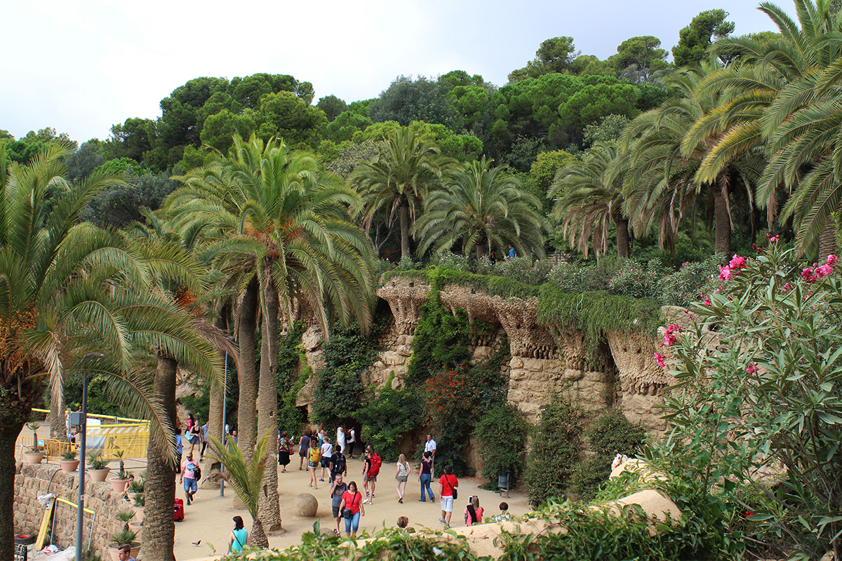 Park Guell: it's a jungle out there
