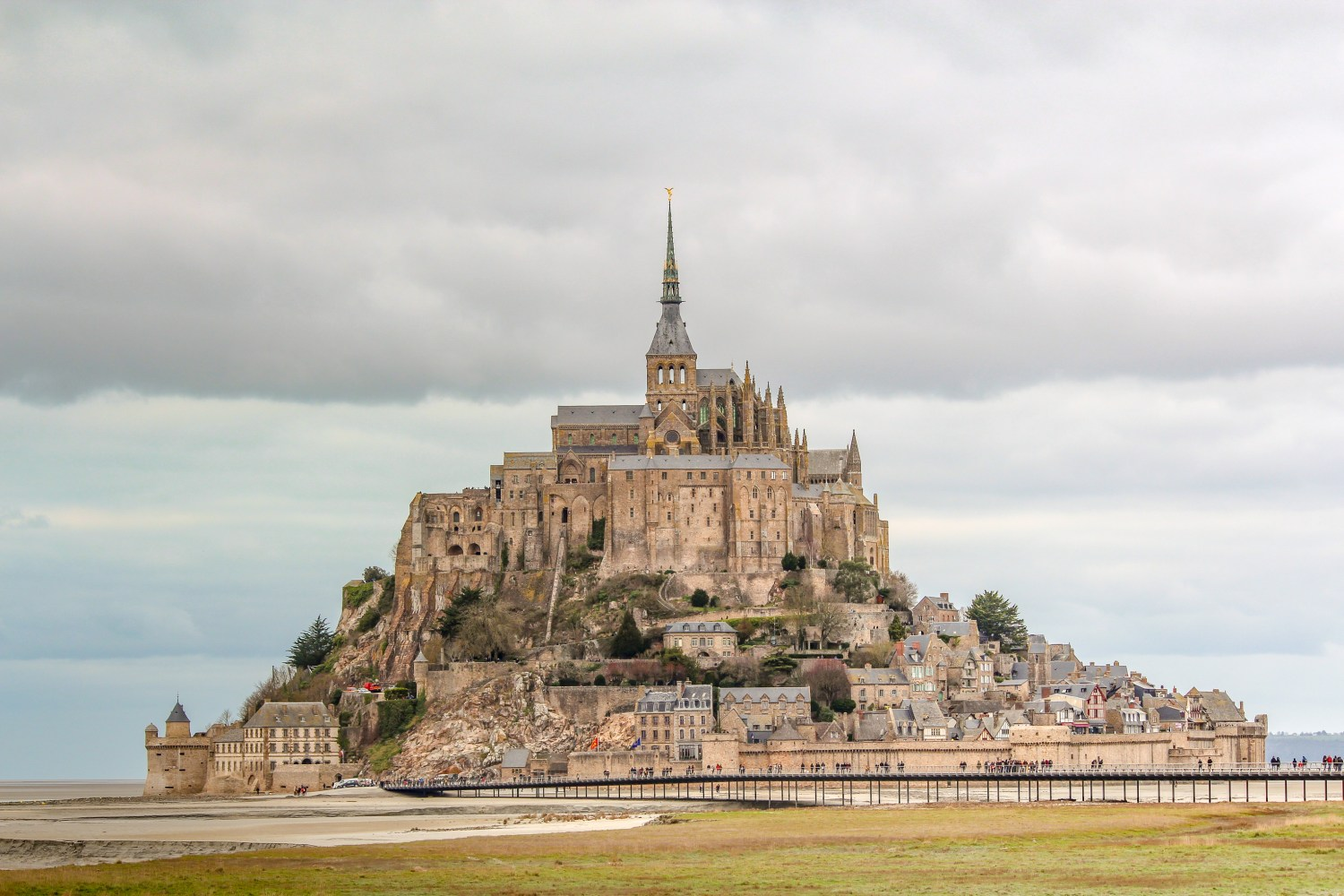 The Magical Mont Saint-Michel Monastery in Normandy