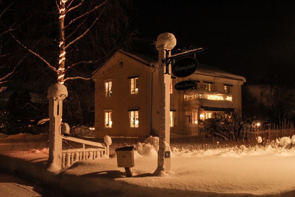 The snug Brunnsgården Bed & Breakfast in the small town of Skellefteå, northern Sweden.