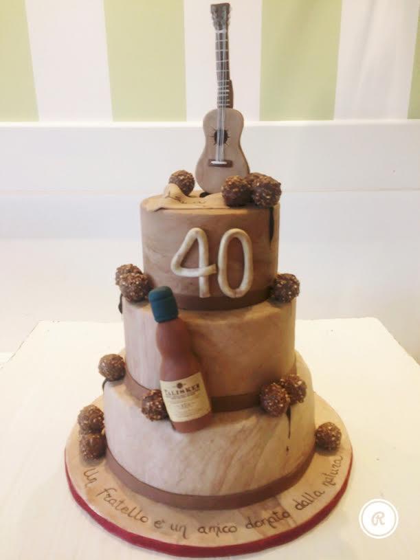 Cerchi Una Torta Di Compleanno Speciale Per I Tuoi 40 Anni