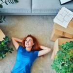 femme immobilier