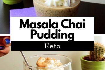 Keto Masala Chai Pudding