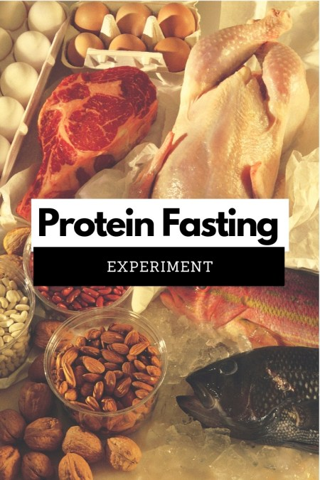 Protein Fasting - While many of you have heard of Egg Fast, I wonder if you've heard of Protein Fasting_ I've decided to give it a try and share my results.