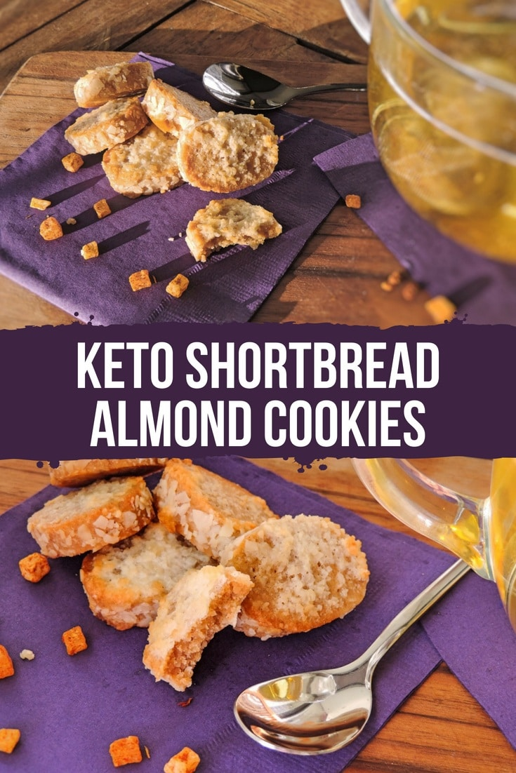 So, sitting on the balcony, I can have a cup of green tea, accompanied by a couple of keto shortbread almond cookies. And I'm a happy camper. #keto #ketogenic #lowcarb #ketocookies #recipe #dessert #mysweetketo
