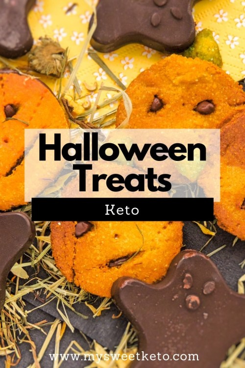 Prepare the keto Halloween treats you're going to enjoy, so your sweet tooth won't give in to temptations when you look at all that candy! #keto #ketohalloween