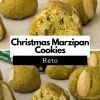 These low-carb Christmas Marzipan Cookies, which are a tradition in Europe, are unbelievably quick and easy to prepare. #keto #lowcarb #ketochristmas #dessert #mysweetketo