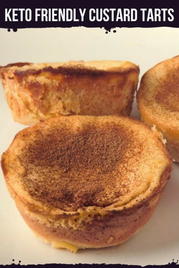 Here comes a low-carb, sugar and gluten-free variant of the amazing Portuguese egg pastry. The keto friendly custard tarts. #keto #ketogenic #lowcarb #dessert #mysweetketo
