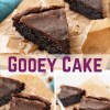 Keto chocolate gooey cake is for you if you're into the gooey stuff. I'm talking crunchy on the outside and delightfully gooey on the inside. #keto #ketogenic #lowcarb #gooey #dessert #mysweetketo
