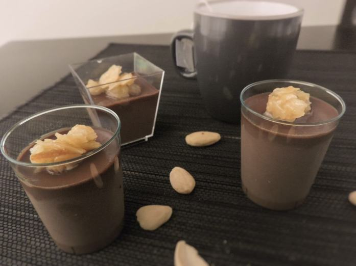 Vegan keto chocolate pudding recipe