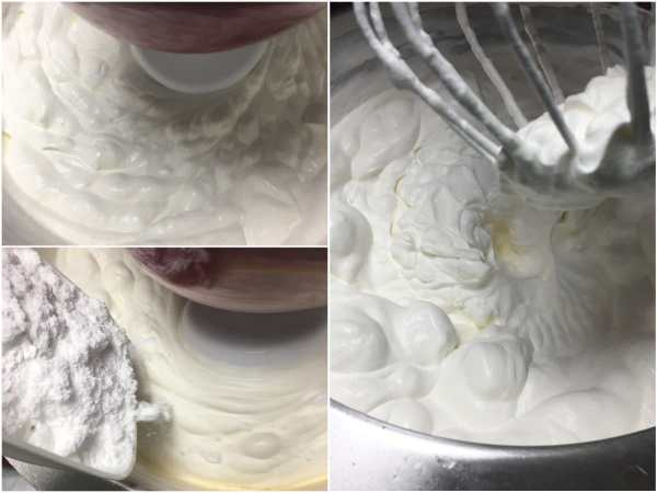 """Dissolve <a href=""""http://amzn.to/2wWyOqO"""" target=""""_blank"""">gelatine</a> according to instructions. <br><br> Beat heavy cream with whisk attachment on high speed until soft peaks form. Add powdered <a href=""""http://amzn.to/2eKzzj2"""" target=""""_blank"""">erythritol</a>  and 1 tbsp. cherry vodka (or rum) and beat on high for another minute. Add dissolved <a href=""""http://amzn.to/2wWyOqO"""" target=""""_blank"""">gelatine</a> and beat for another minute or two until stiff and spreadable."""