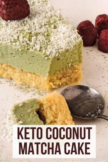 When it comes to cakes, recipes don't always need to be complex. A sponge keto ake with creamy matcha frosting is enough to satisfy a sweet tooth. #mathca #matchacake #ketocake #keto #ketogenic #lowcarb #dessert #recipe #mysweetketo