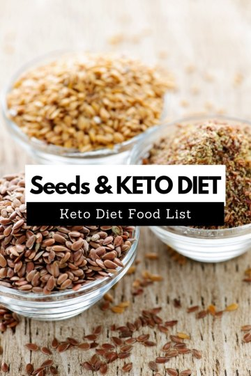 Seeds provide a tremendous amount of fat and even protein. Also, the carbohydrates that seeds contain are offset by the dietary fiber to produce optimal net carbs. #keto #ketogenic #ketodiet
