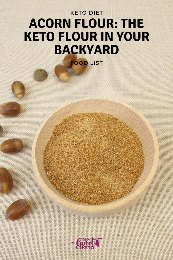 Acorn flour can fit into your keto diet. Start baking with this nutty and sweet keto flour to change up your normal keto ingredients!