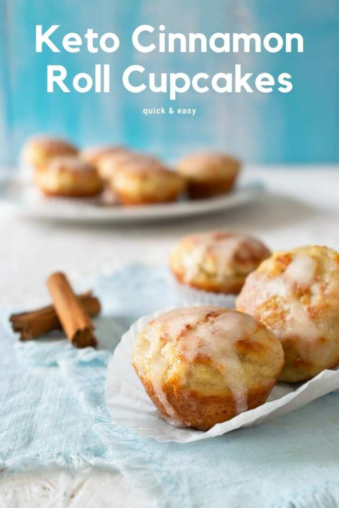 """These cinnamon rolls are not only simple, but they're also quick and easy. If you need a low-carb dessert in a hurry, this could quickly become your default """"oh my gosh, the in-laws will be here in thirty minutes and I don't want to destroy my diet so I need something sweet now"""" rescue recipe! #keto #lowcarb #ketogenic"""