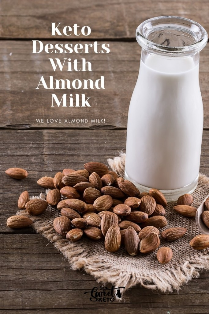 Almond milk is a dairy-free keto milk alternative that works great in keto desserts! Read on to learn how to make it and make good use of it.