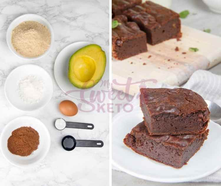Satisfy your sweet tooth with our easy peasy and totally delicious Keto avocado brownies. #keto