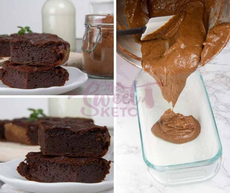 Satisfy your sweet tooth with our easy peasy and totally delicious Keto avocado brownies. #keto #ketobrownies #brownies #lowcarb