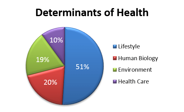 determinants of health and fitness