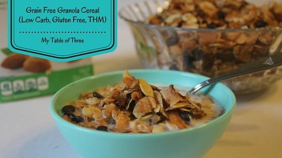 Low Fat Granola Cereal Recipes