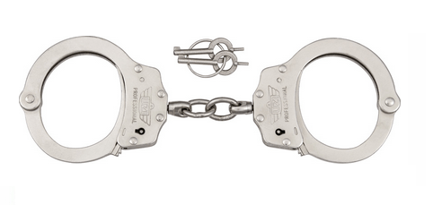 uzi professional handcuffs silver
