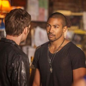 The Originals -- Pictured (L-R): Joseph Morgan as Klaus and Charles Michael Davis as Marcel -- Image Number: OR420c_0285r.jpg -- Photo: Skip Bolen/The CW -- ©2013 The CW Network, LLC. All rights reserved.