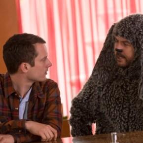 WILFRED: Episode 1: Uncertainty (Season Premiere, Airs Thursday, June 20, 10:00 pm e/p). Pictured: (L-R): Elijah Wood as Ryan, Jason Gann as Wilfred. CR: Prashant Gupta/FX