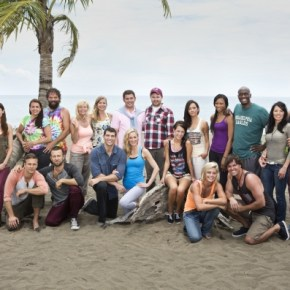 "Cast of Survivor 27 ""Blood Vs. Water"""