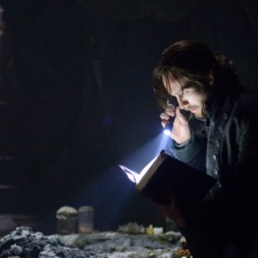 SLEEPY HOLLOW: A Revolutionary-era Ichabod Crane (Tom Mison) is resurrected and awakes in present day Sleepy Hollow, in the premiere episode of SLEEPY HOLLOW premiering Monday, Sept. 16 (9:00-10:00 PM ET/PT) on FOX. ©2013 Fox Broadcasting Co. CR: Kent Smith/FOX