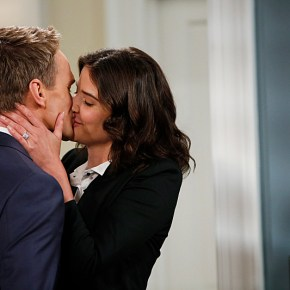 """""""Coming Back"""" -- The wedding weekend is here! Robin (Cobie Smulders) and Barney (Neil Patrick Harris) share a tender moment before the chaos begins. The ninth season of HOW I MET YOUR MOTHER premieres with a special one-hour episode, Monday, Sept. 23 (8:00-9:00 PM, ET/PT) on the CBS Television Network.  Photo: Cliff Lipson/CBS  © 2013 CBS Broadcasting, Inc. All Rights Reserved."""