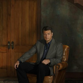 "CASTLE - ABC's ""Castle"" stars Nathan Fillion as Richard Castle. (ABC/Bob D'Amico)"