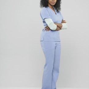 """GREY'S ANATOMY - ABC's """"Grey's Anatomy"""" stars Jerrika Hinton as Stephanie Edwards. (ABC/Bob D'Amico)"""