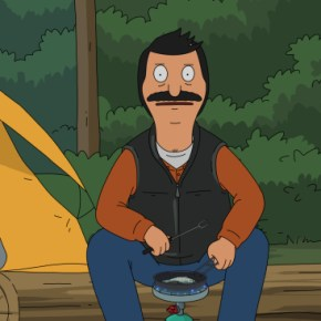 "BOB'S BURGERS: Bob and the family go on a camping adventure in the all-new ""A River Runs Through Bob""  season premiere episode of BOB'S BURGERS airing Sunday, September 29 (8:30-9:00 PM ET/PT) on FOX.   BOB'S BURGERS ™ and © 2013 TCFFC ALL RIGHTS RESERVED."