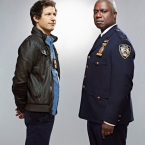 "BROOKLYN NINE-NINE: From Emmy Award-winning writer/producers of ""Parks and Recreation"" and starring Emmy Award winners Andy Samberg (L) and Andre Braugher (R), BROOKLYN NINE-NINE is a new single-camera workplace comedy about what happens when a hotshot detective (Samberg) gets a new Captain (Braugher) with a lot to prove. The new single-camera workplace comedy BROOKLYN NINE-NINE premieres this fall on FOX. ©2013 Fox Broadcasting Co. Cr: Patrick Eccelsine/FOX"
