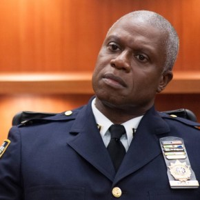 """BROOKLYN NINE-NINE: From Emmy Award-winning writer/producers of """"Parks and Recreation"""" and starring Emmy Award winners Andy Samberg and Andre Braugher, BROOKLYN NINE-NINE is a new single-camera workplace comedy about what happens when a hotshot detective (Samberg) gets a new Captain (Braugher) with a lot to prove. The new single-camera workplace comedy BROOKLYN NINE-NINE premieres this fall on FOX. ©2013 Fox Broadcasting Co. Cr: Eddy Chen/FOX"""