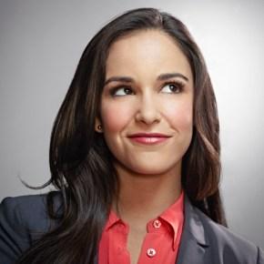 BROOKLYN NINE-NINE: Melissa Fumero as Amy Santiago in the new single-camera workplace comedy BROOKLYN NINE-NINE premiering this fall on FOX. ©2013 Fox Broadcasting Co. Cr: Patrick Eccelsine/FOX