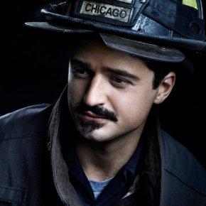"CHICAGO FIRE -- Season: 2 -- Pictured: Yuri Sardarov as Brian Zvonecek ""Otis"" -- (Photo by: Nino Munoz/NBC)"