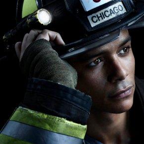CHICAGO FIRE -- Season: 2 -- Pictured: Charlie Barnett as Peter Mills -- (Photo by: Nino Munoz/NBC)